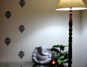 The new lamp