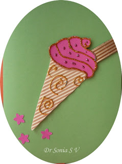 Ice Cream Card by Sonia