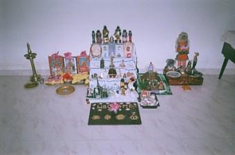 Navratri Golu decorations