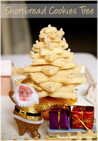Shortbread Cookie Tree