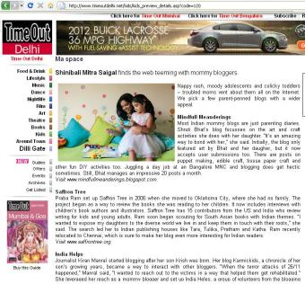 Featured in Timeout Delhi