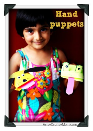 How to make a  Dog & Frog Hand Puppet