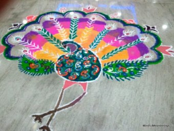 Sankranti Rangoli Designs – Easy and Simple
