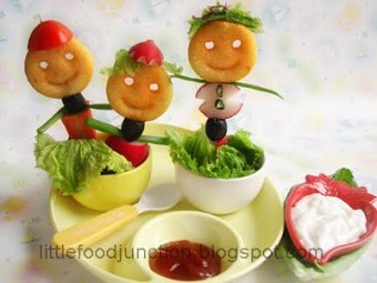 How about some edible puppets??