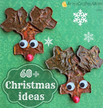 60 DIY Christmas Crafts Kids Can Make