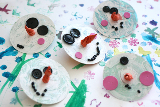 Christmas Craft - CD Ornaments