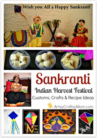 makar Sankranti Customs, Crafts & Recipe Ideas