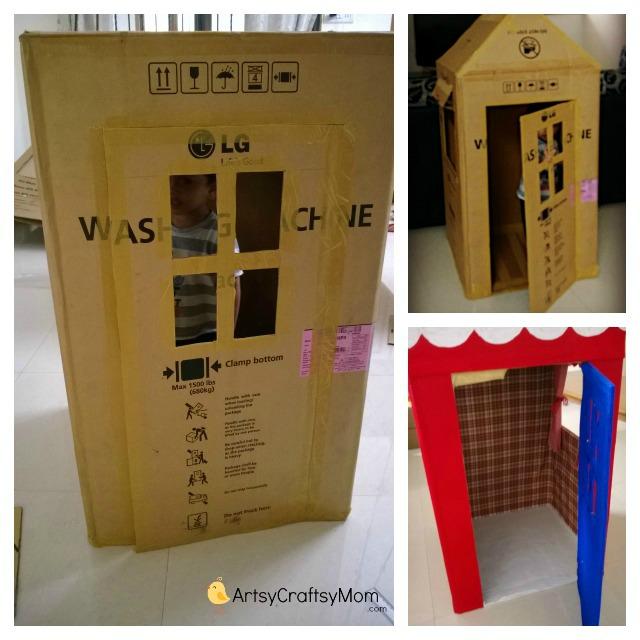 DIY-Cradboard-house
