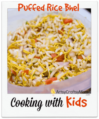 Cooking with Kids – Puffed Rice Bhel