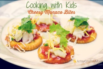 Cooking with Kids – Cheesy Monaco Bites