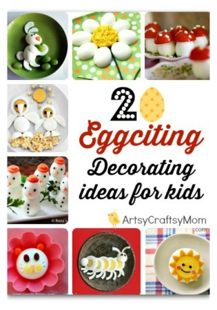 egg decorations - food porn , egg salad , salad dressing, fun food art, egg bento
