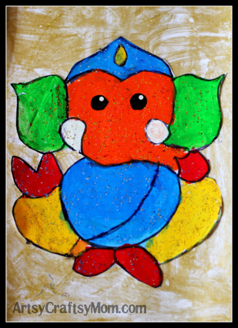 Ganesh Drawing For Kids : ganesh, drawing, Ganesh, Chaturthi, Crafts, Activities