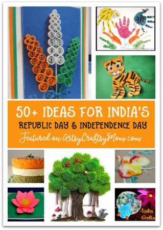 50 Craft Ideas for kids to celebrate India's Republic Day
