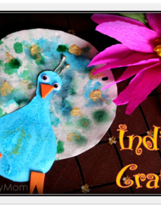 India independence day special crafts paper peacock and crepe lotus also rh artsycraftsymom