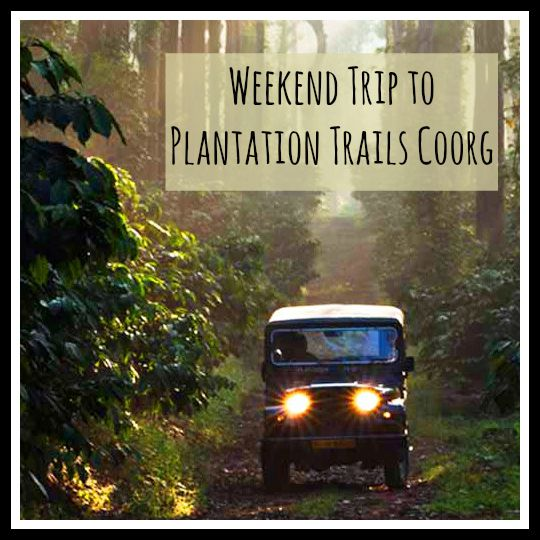 Weekend Trip to Plantation Trails Coorg