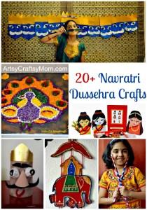 Navratri dussehra crafts 448x640 | Navratri Dussehra Activities | navratri India Crafts Dussehra Diwali Age5 7
