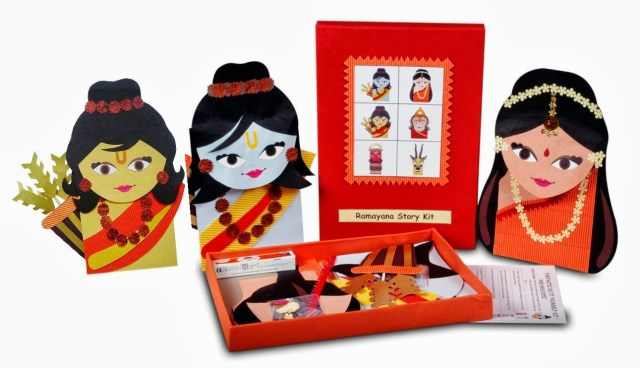 Dussehra crafts to recreate ramayana | 21 Navratri Dussehra Activities and Crafts to get your child involved in the festivities- crafts, puppets and activities that are both fun and educational.