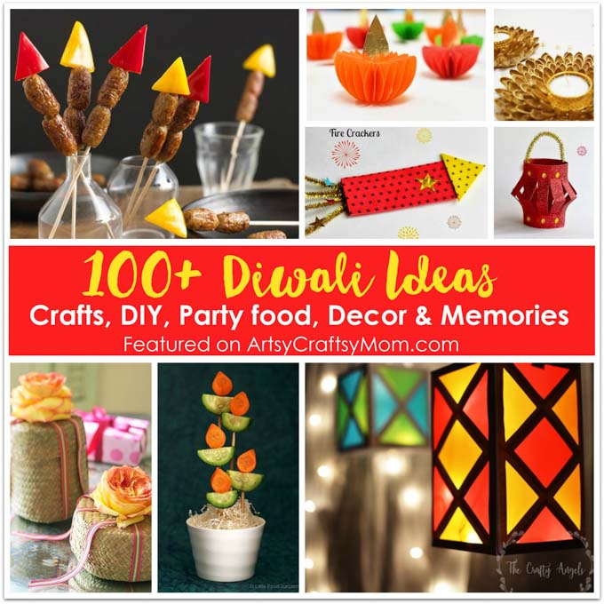 Ideas For Diwali Decoration At Home: Cards, Crafts, Decor, DIY And Party Ideas