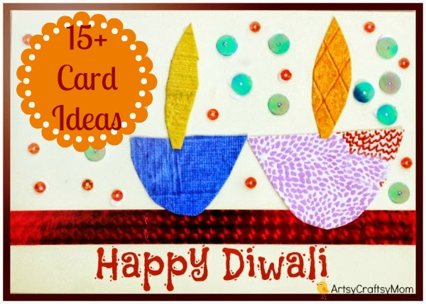 The ultimate list of 15 diy diwali card ideas for kids to make diwali fire cracker card 15 diwali card making ideas for kids kandils m4hsunfo