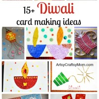 The ultimate list of 15+ DIY Diwali card ideas for kids to make
