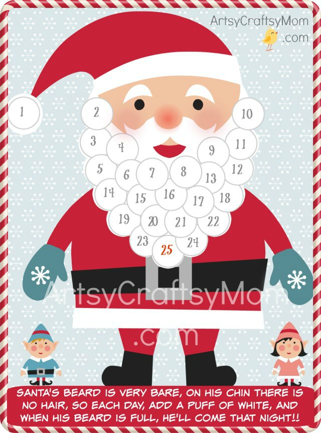 santa-advent-calendar