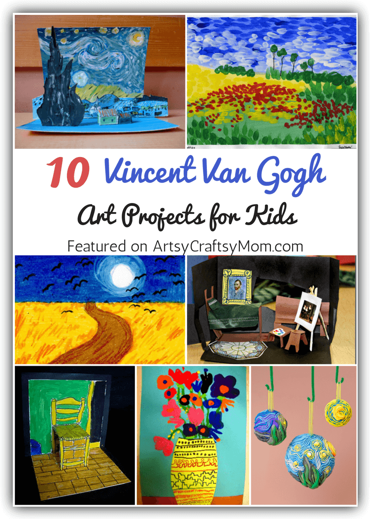 Top 10 Van Gogh Projects for Kids - Inspire your Heart with Art Day
