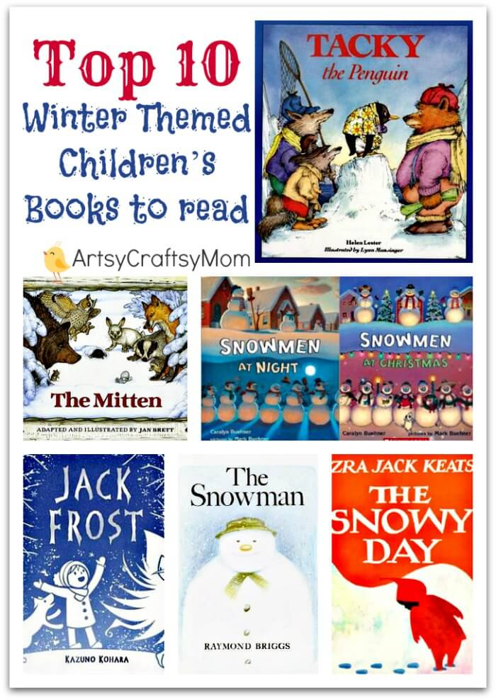 Top 10 favorite Winter Themed Childrens Books to read