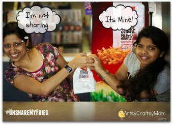 #UnshareMyFries with McDonald's