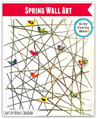 Coolest DIY Wall Art Project for spring