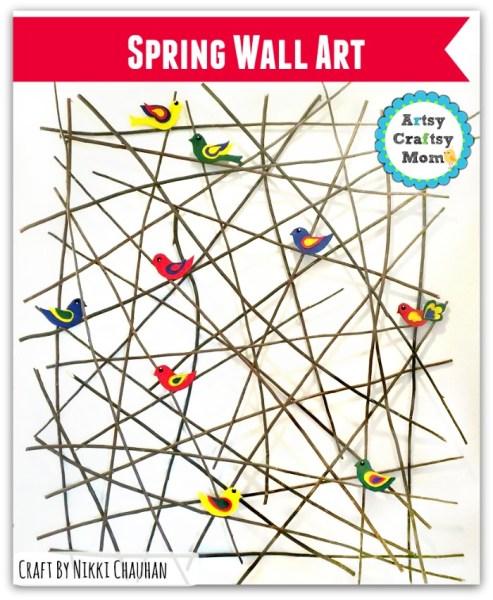 DIY Spring Wall Art