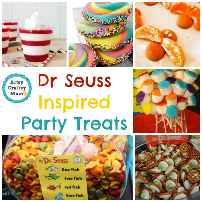 Dr Seuss inspired Party Treats