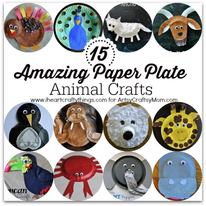 15 Amazing Paper Plate Animal Crafts