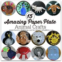 15 Amazing Paper Plate Animal Crafts - Artsy Craftsy Mom