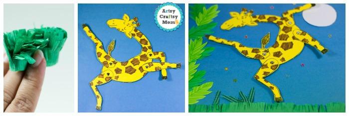 Giraffes Can't Dance puppet