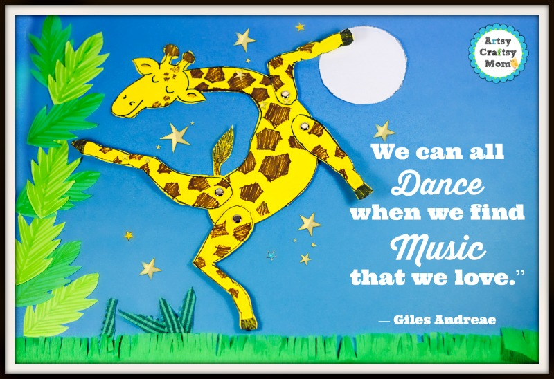 Giraffes Can't Dance quote