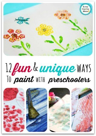 12 fun and unique ways to paint with preschoolers