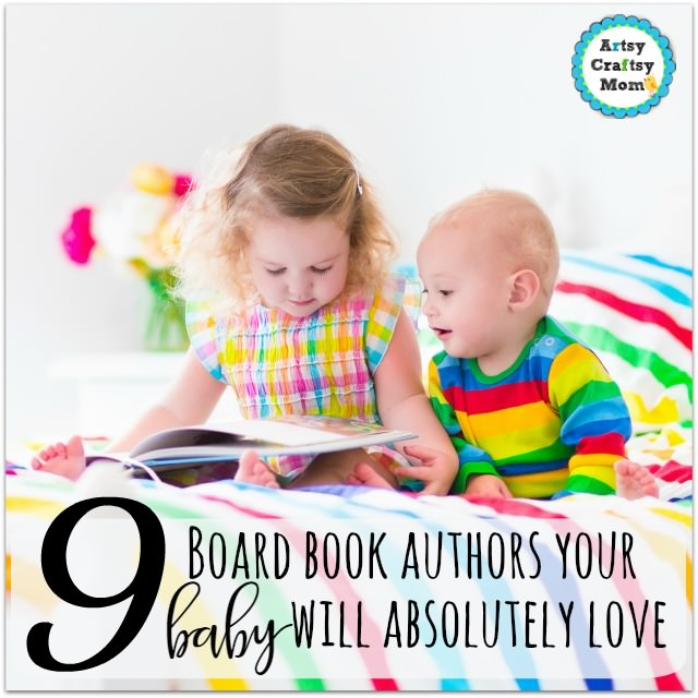 Two children, cute curly little toddler girl and a funny baby boy, brother and sister, reading a book sitting in a sunny bedroom on a wooden white bed with colorful rainbow bedding enjoying a nice weekend morning