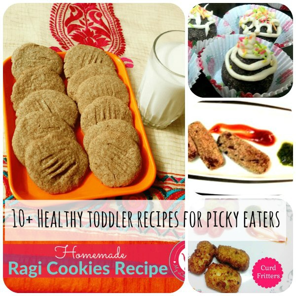 10+ Healthy toddler recipes for picky eaters