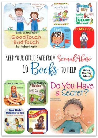 10 books to help keep your child safe from sexual abuse