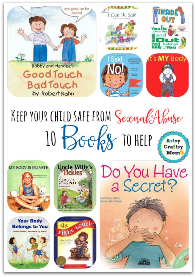 10 books to help prevent sexual abuse
