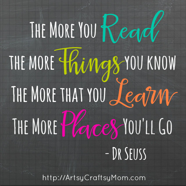 Best dr seuss quotes on reading