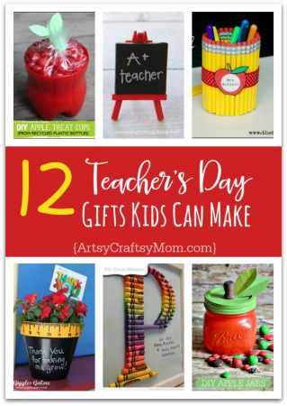 12 Useful Crafts For Teachers that Kids Can Make | Teacher Appreciation