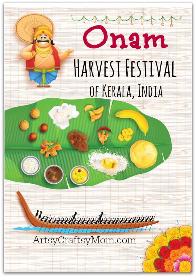 Celebrating Onam Harvest Festival of Kerala1