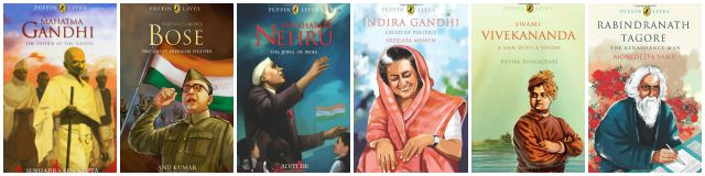 puffin lives books india freedom struggle