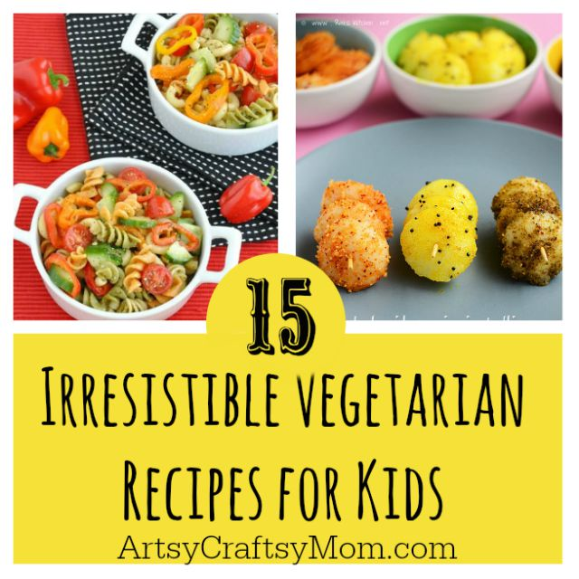 Is your kid a picky eater? Try these 15 Recipes That Will Make Your Kids Love Vegetables again. Fun finger foods in an all new healthy vegetarian avatar. Pasta, kebabs, fries. perfect for school lunches
