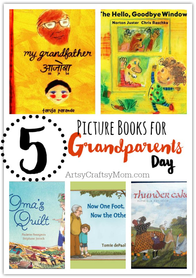 5 Picture Books for Grandparents Day
