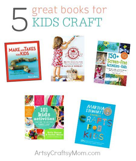 Books-kids crafts