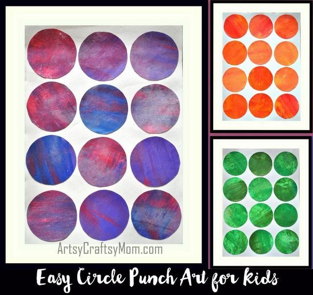 Circle Punch Art008