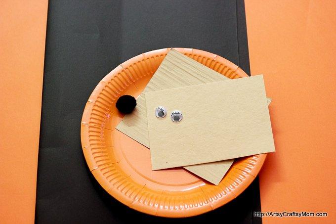 Paper Plate Mr Fox - roald dahl-6750