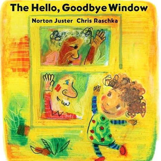 book_thehellogoodbyewindow1 - Pick up one of these 5 Picture Books for Grandparents Day to read with your grand kids + Fun activities & Free printable I love Grandpa / Grandma letter